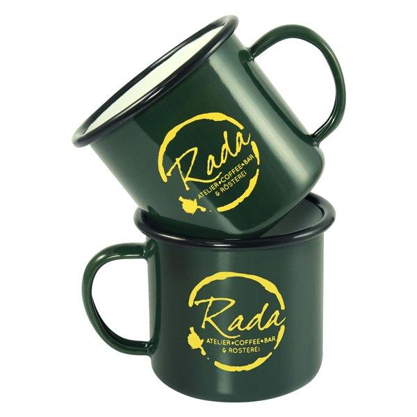 Premium Enamel Mugs 10oz/285ml (Coloured)